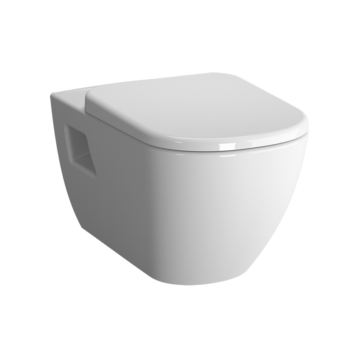 D-Light Pack WC suspendu sans bride, 57,5 cm, abattant Duroplast, fermeture douce