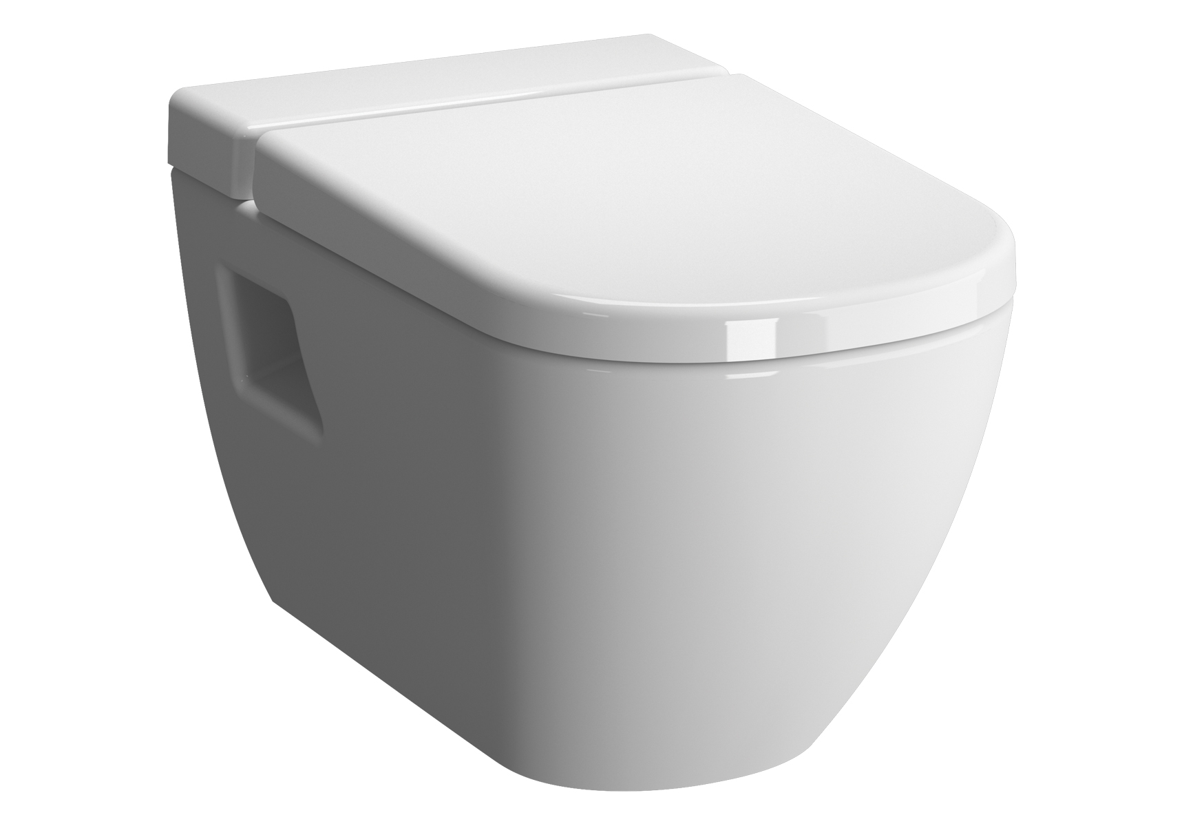 D-Light Pack WC suspendu sans bride, abattant SLIM Duroplast, fermeture douce