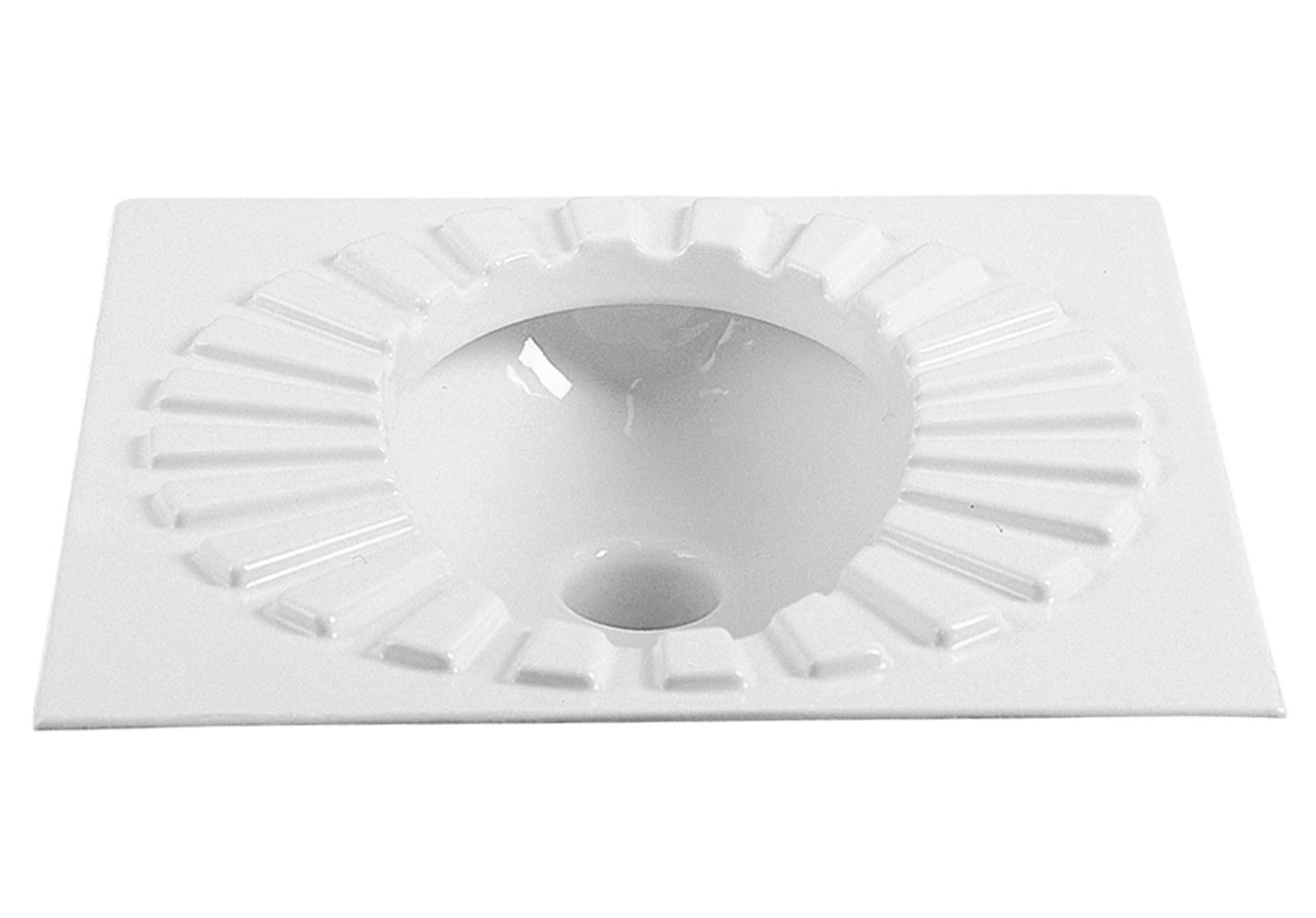 Options Arkitekt WC à la Turque, céramique, sortie, Ø10,5 cm