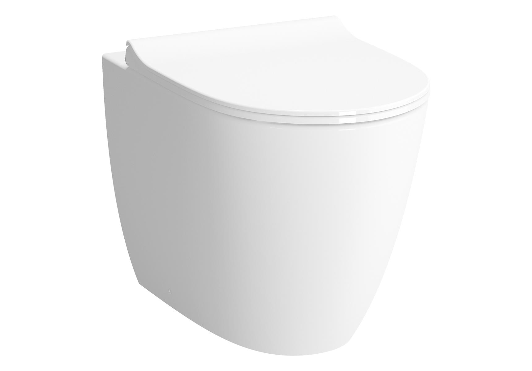 Sento WC à poser avec bride, BTW, 54 cm, S / H, capacité de chasse d'eau 3/6 l