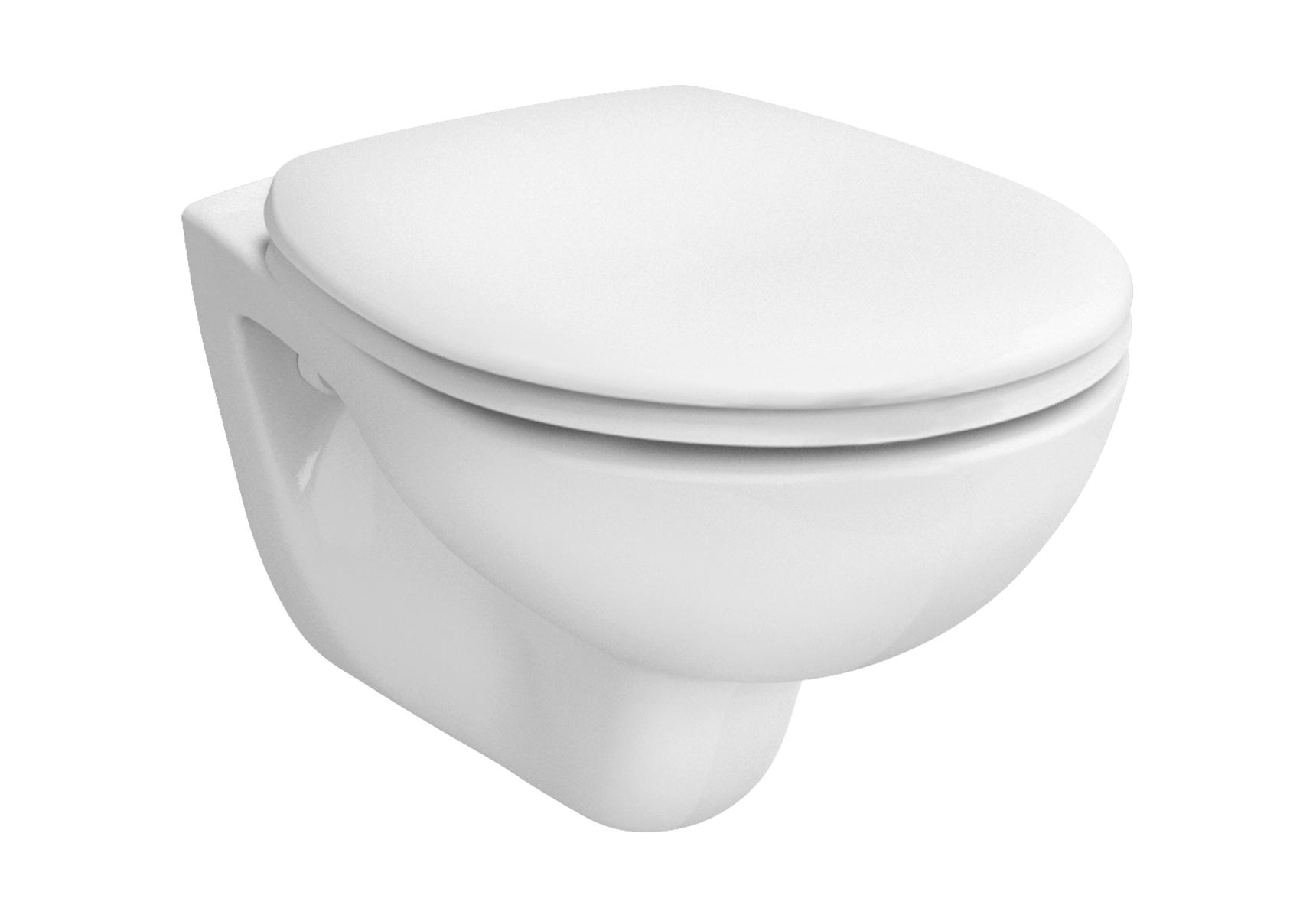 Arkitekt WC suspendu avec bride compact, 51,5 cm