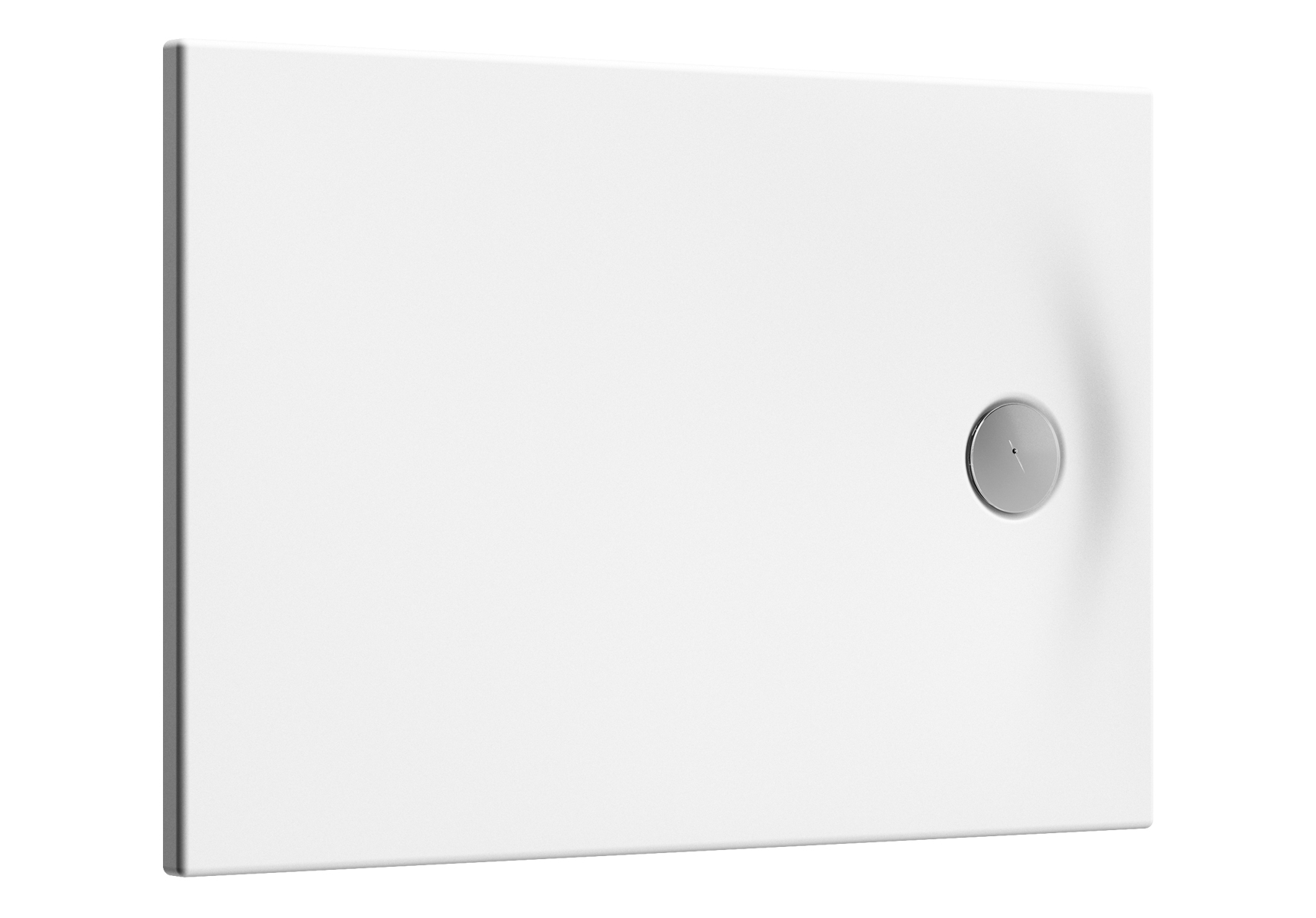 Smooth Duschwanne, 90 x 75 cm, Weiß
