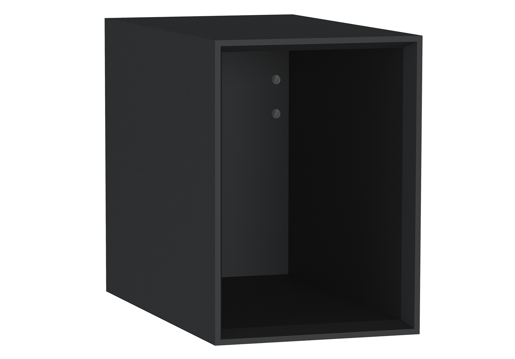 Frame module ouvert, 30 cm, mat noir
