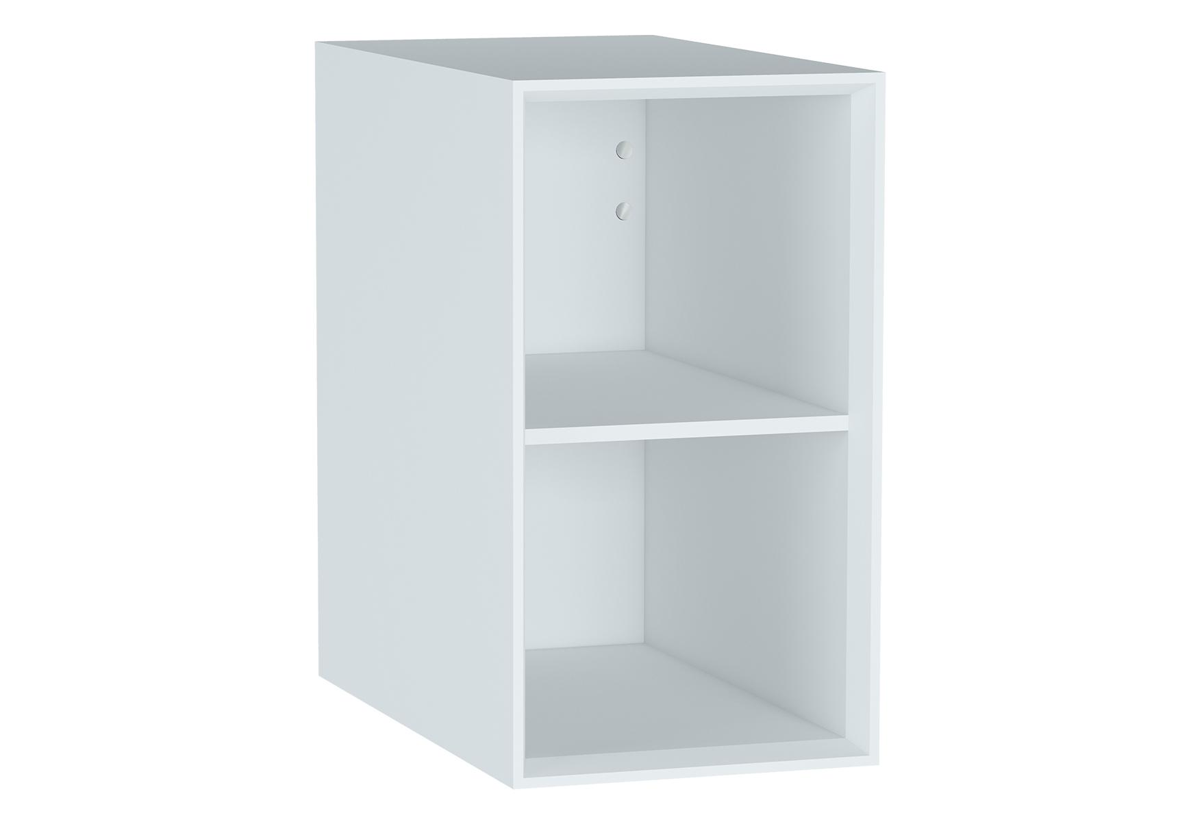 Frame module ouvert et étagère, mat blanc