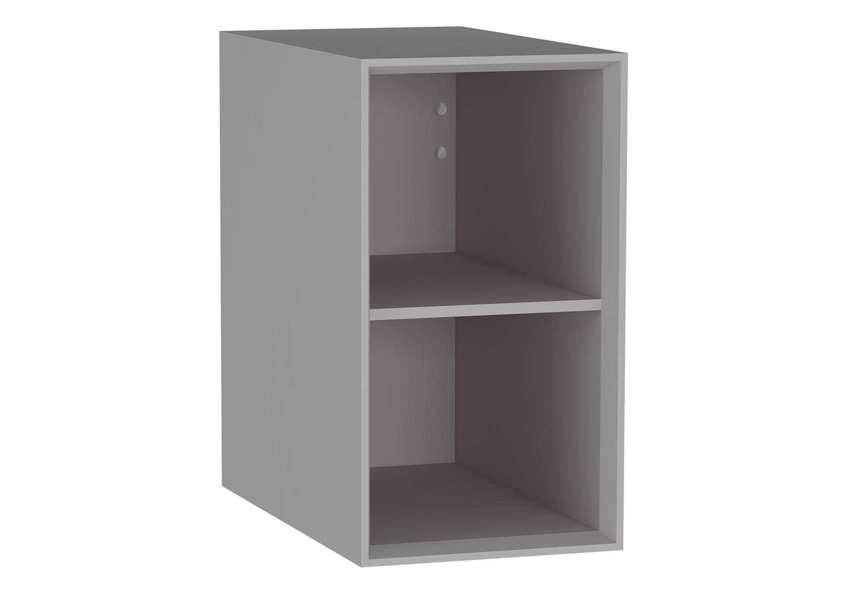 Frame module ouvert et étagère, mat taupe