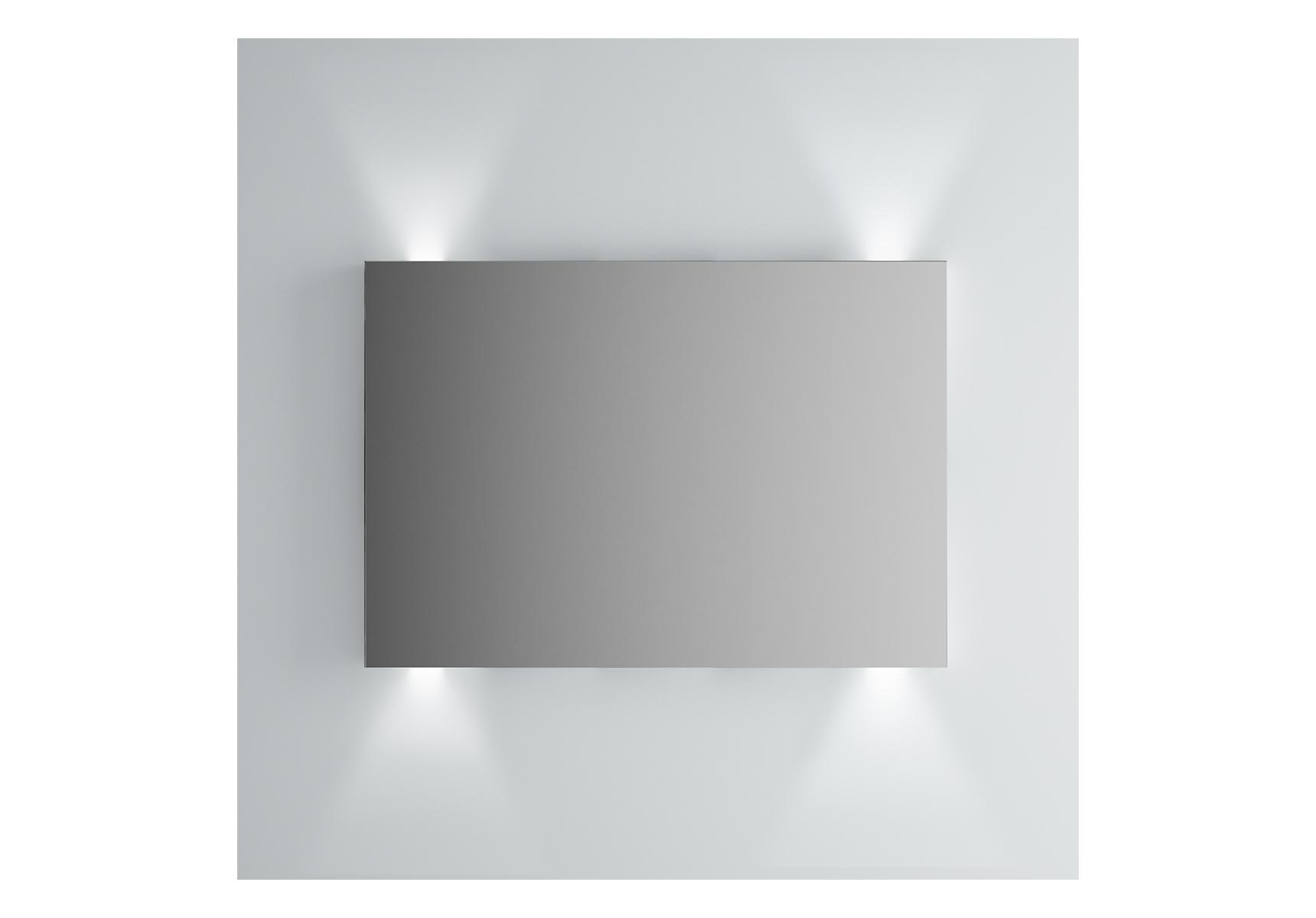 Integra miroir avec éclairage haut et bas, 100 cm
