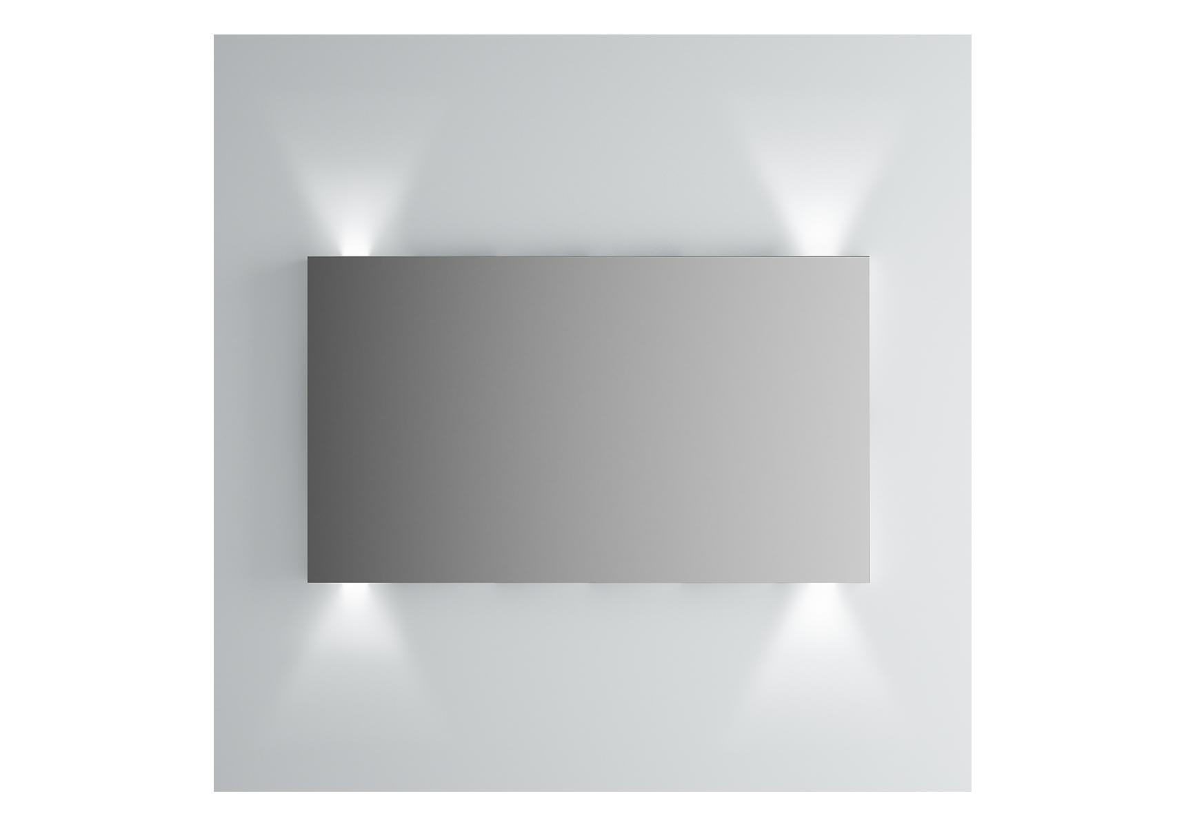 Integra miroir avec éclairage haut et bas, 120 cm