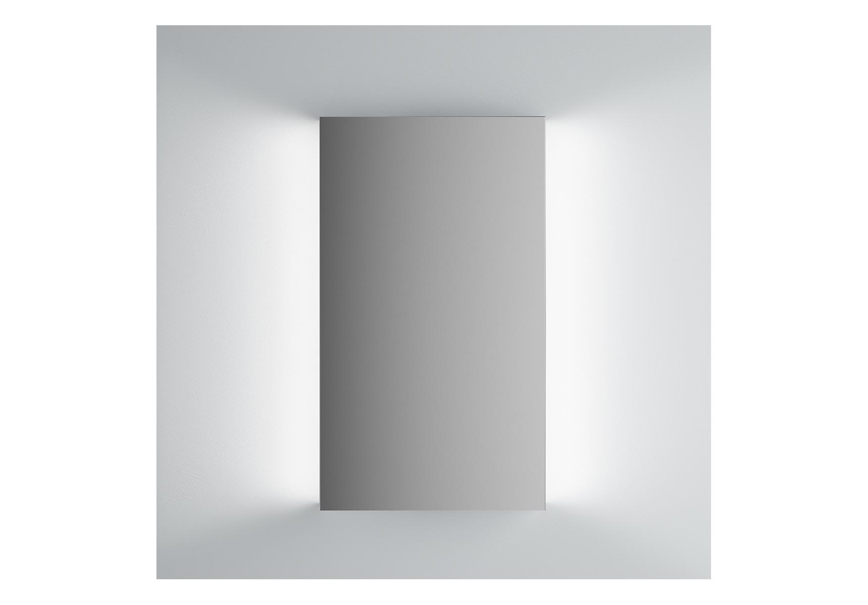 Integra miroir avec éclairage á gauche et à droite, 45 cm