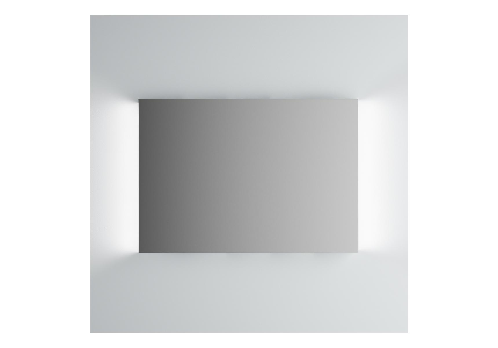 Integra miroir avec éclairage á gauche et à droite, 100 cm