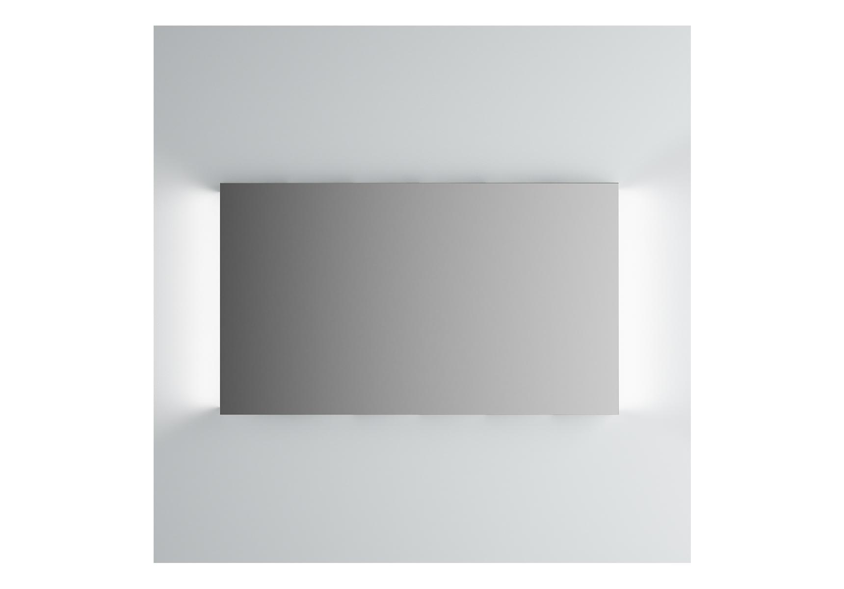 Integra miroir avec éclairage á gauche et à droite, 120 cm
