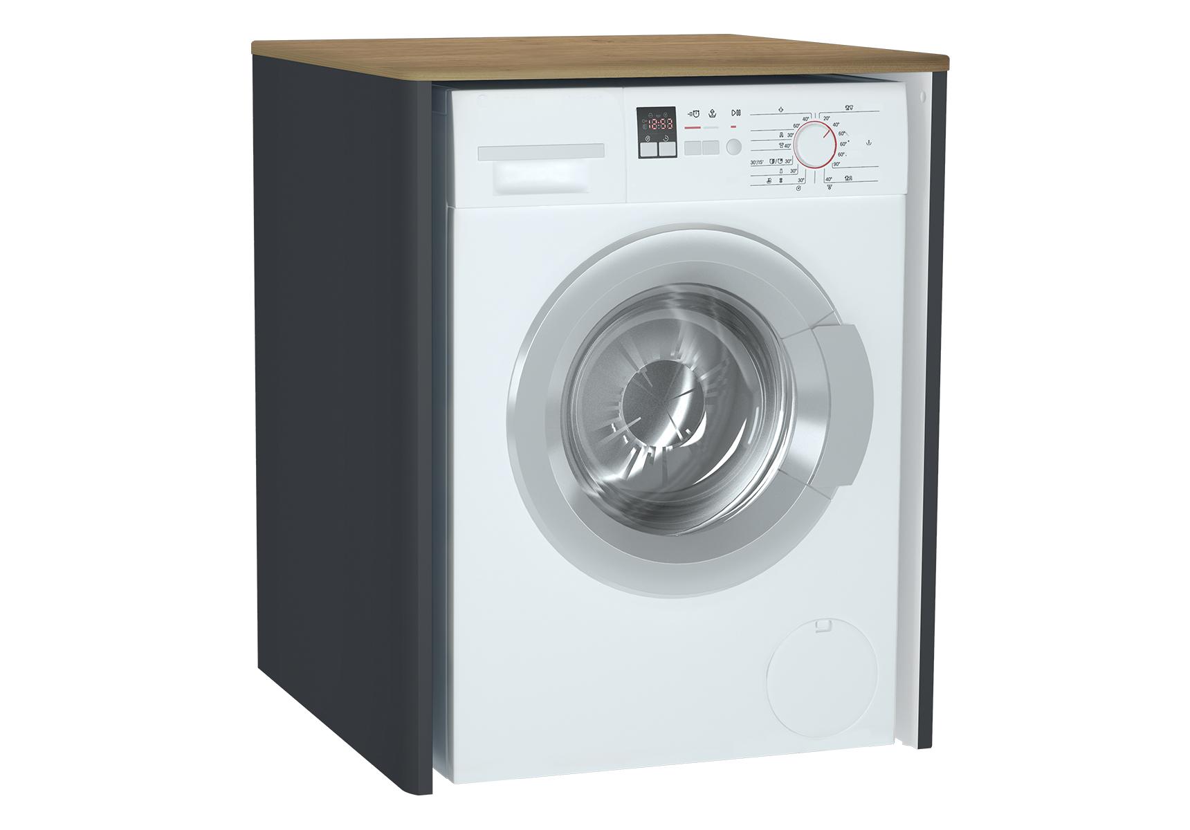Sento unité lave-linge, 70 cm, sans corbeille à linge, anthraciteacite mat