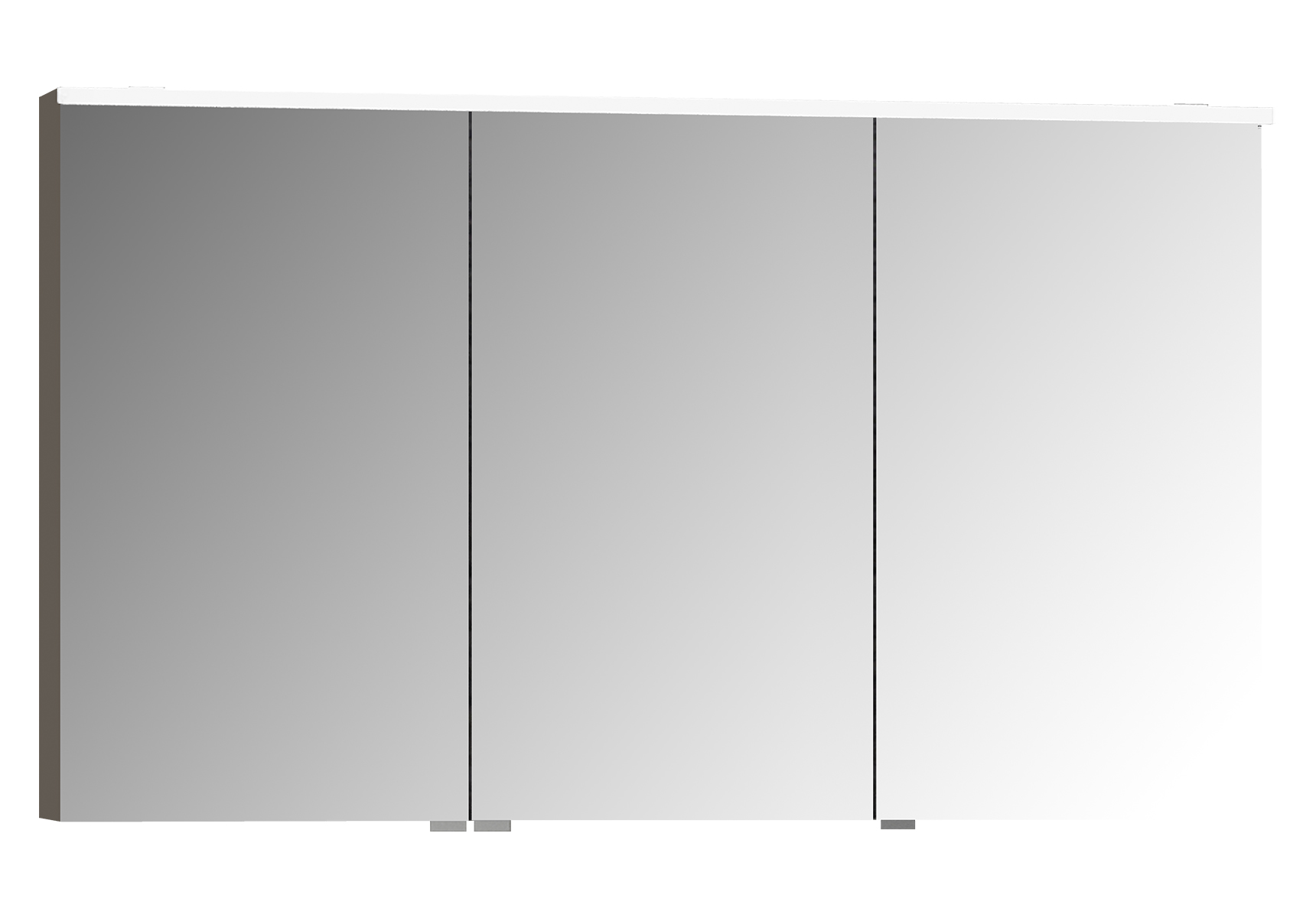 Sento Premium LED-Spiegelschrank, 120 cm, Anthrazit Matt