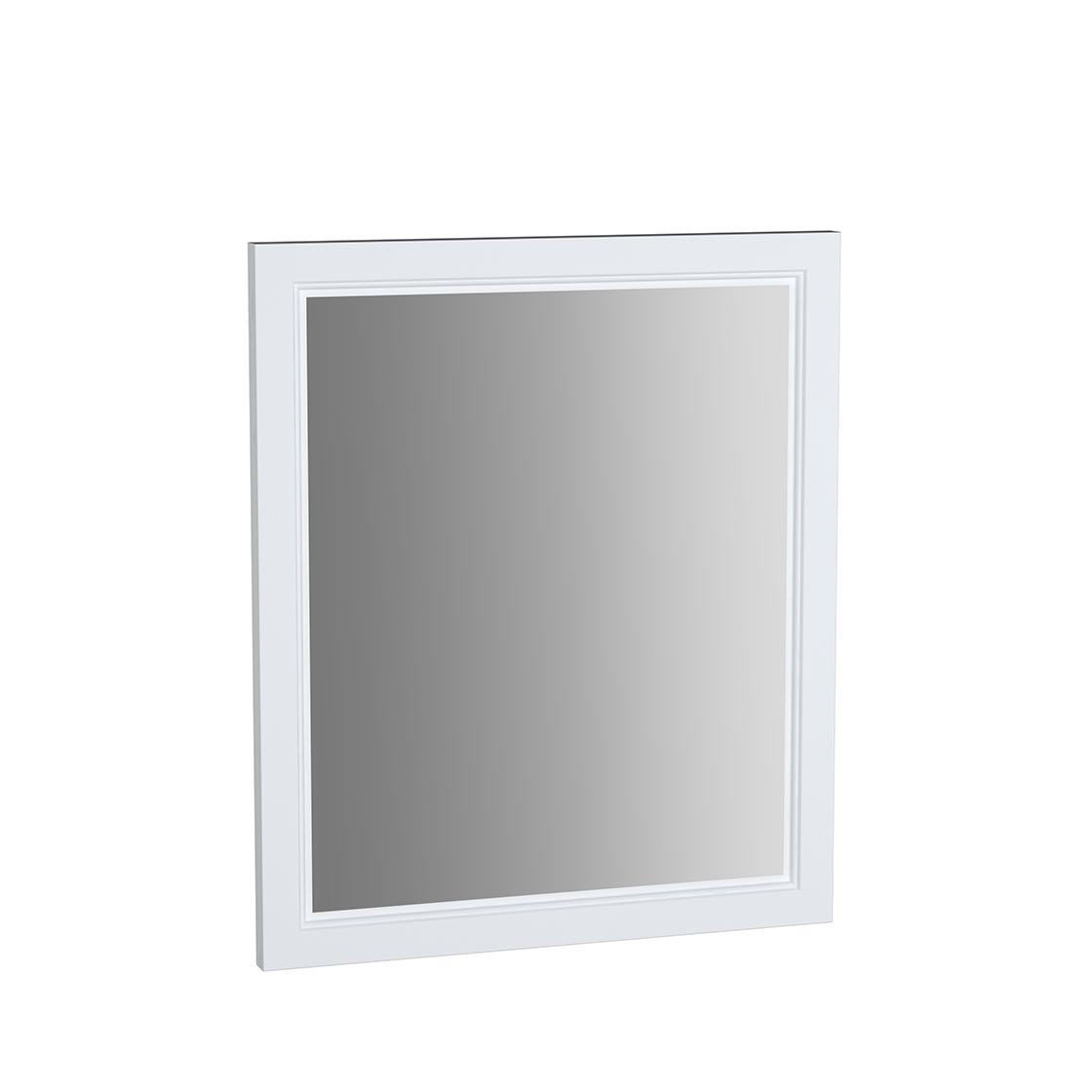 Valarte miroir, 65 cm, blanc mat