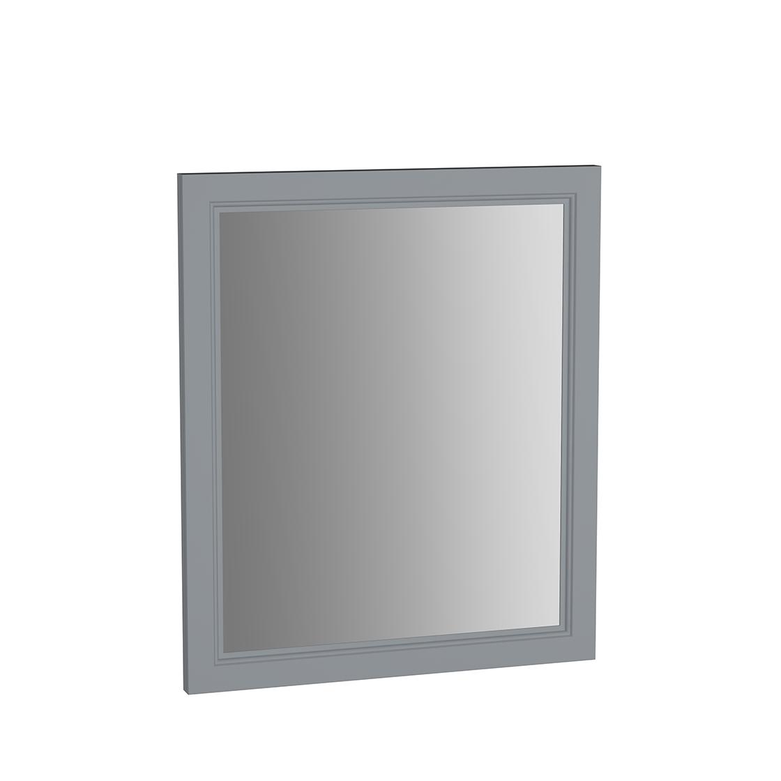 Valarte miroir, 65 cm, gris mat