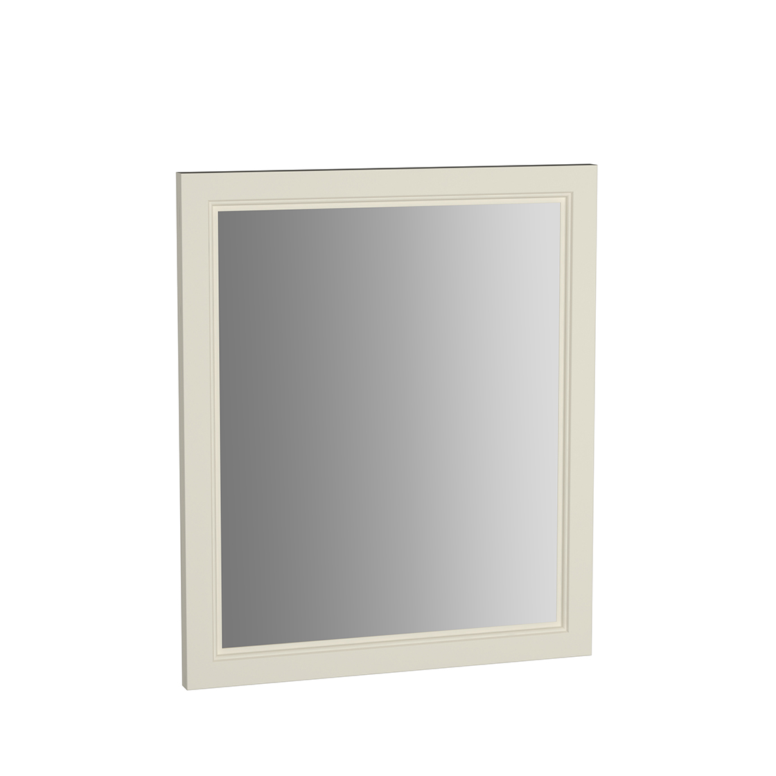 Valarte miroir, 65 cm, ivoire mat