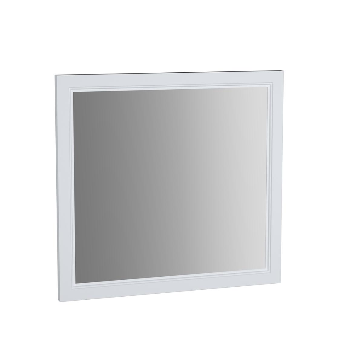 Valarte miroir, 80 cm, blanc mat