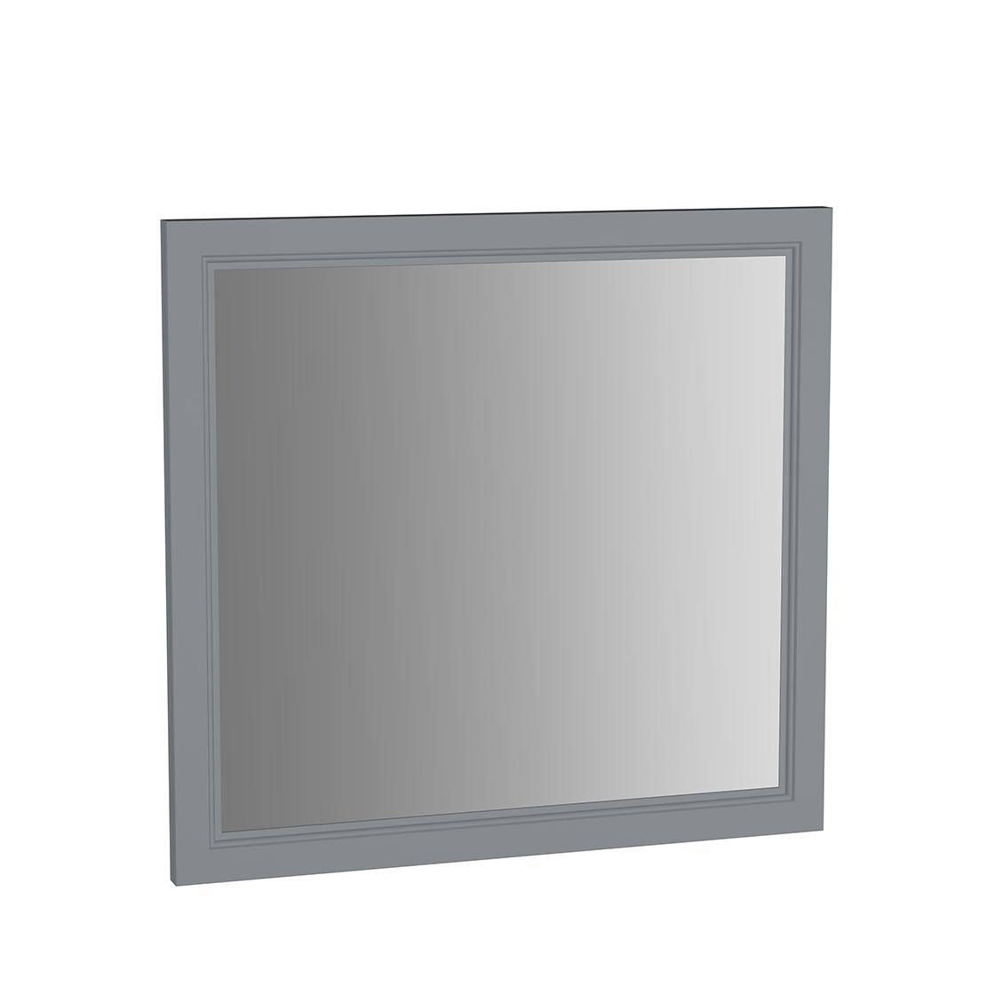 Valarte miroir, 80 cm, gris mat