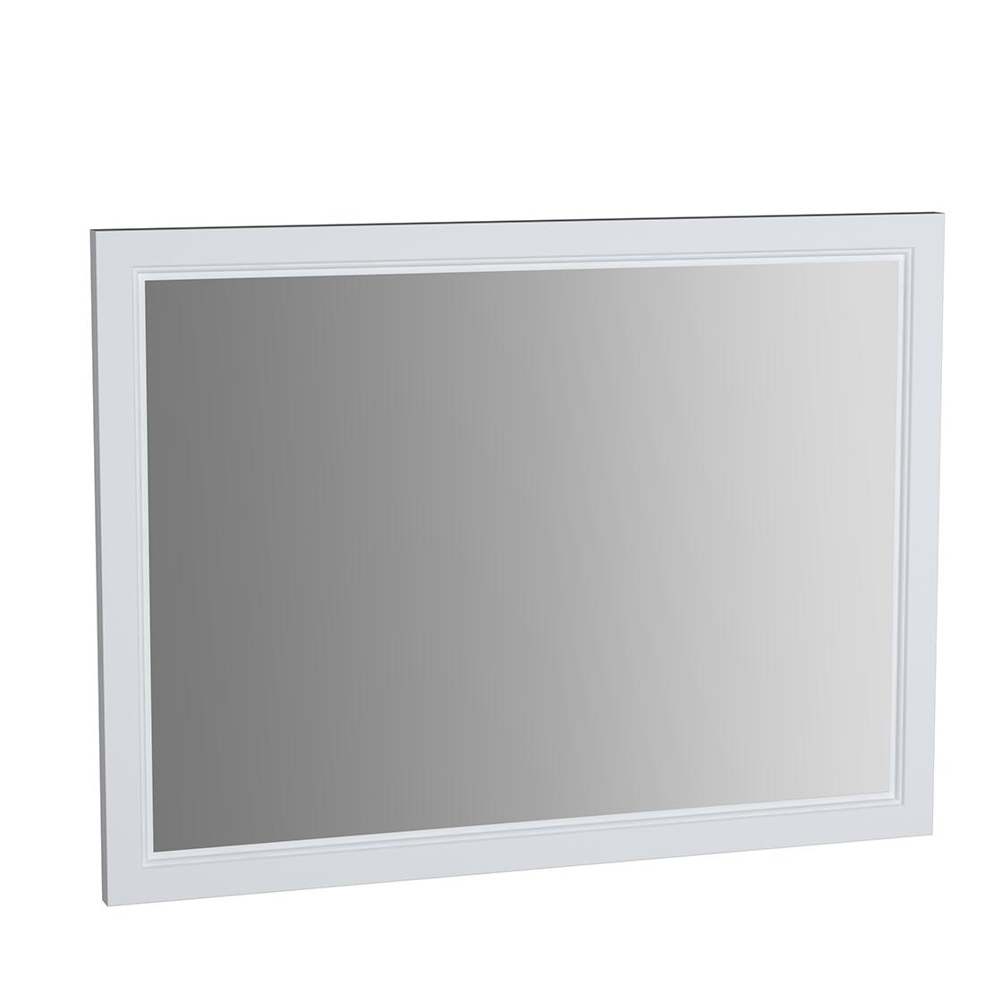 Valarte miroir, 100 cm, blanc mat