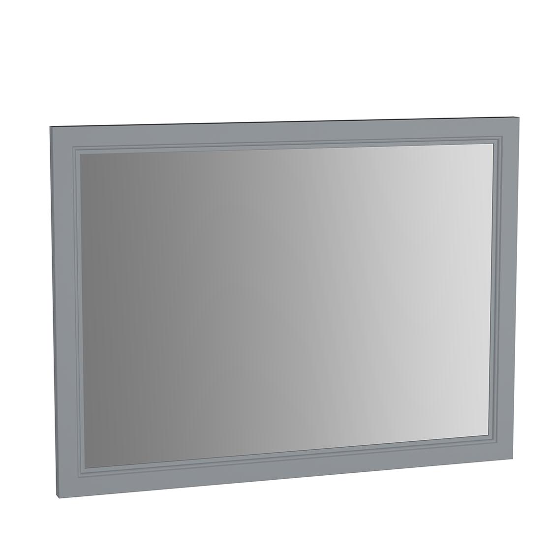 Valarte miroir, 100 cm, gris mat