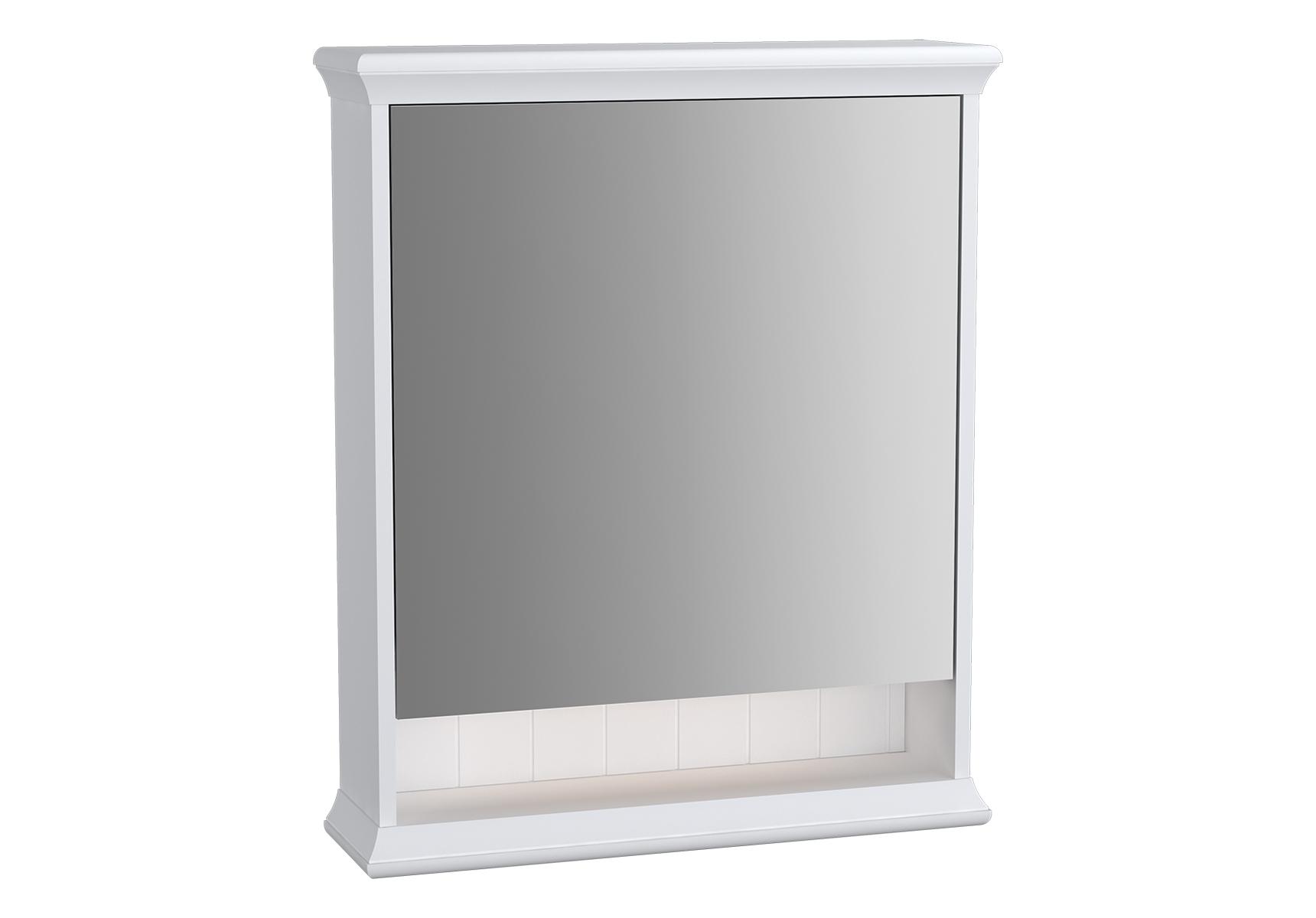 Valarte armoire de toilette, 65 cm, blanc mat, porte à gauche