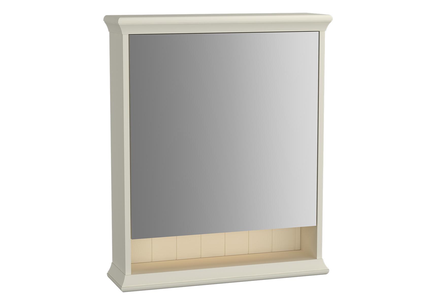 Valarte armoire de toilette, 65 cm, blanc mat, porte à droite