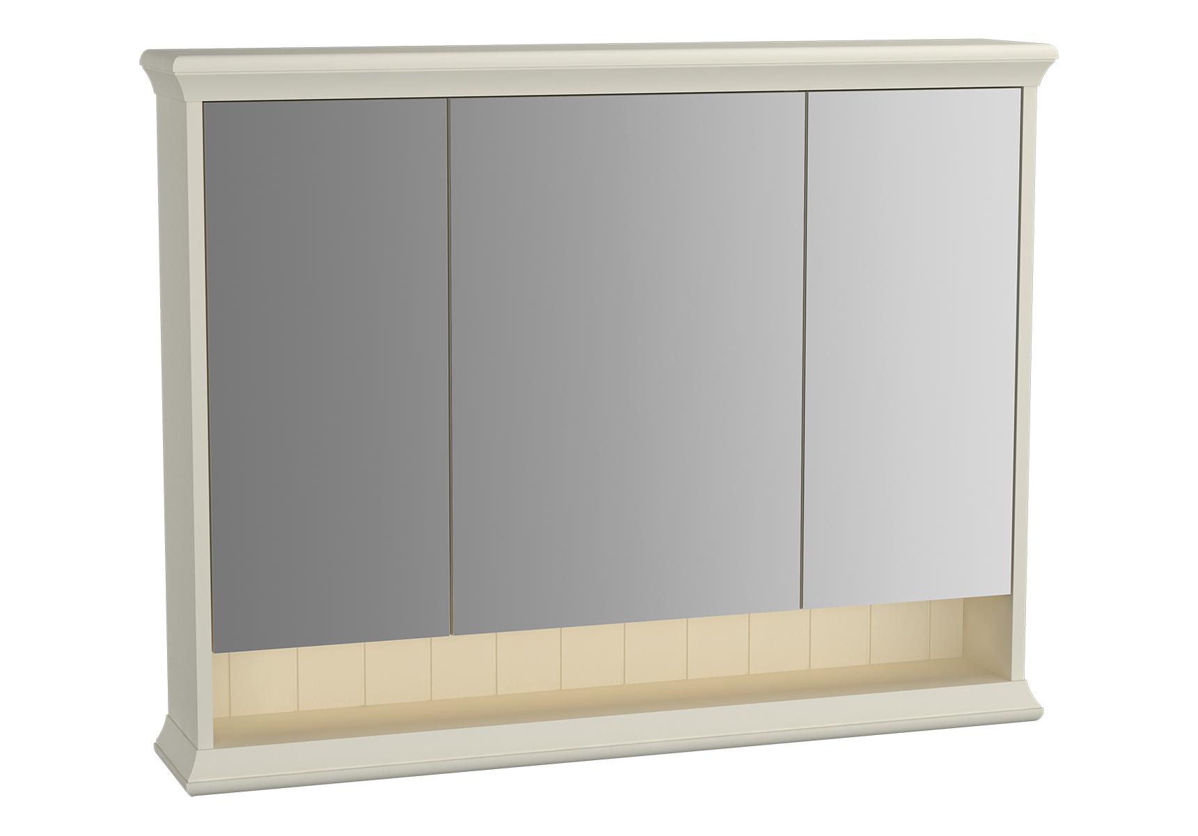 Valarte armoire de toilette, 100 cm, ivoire mat