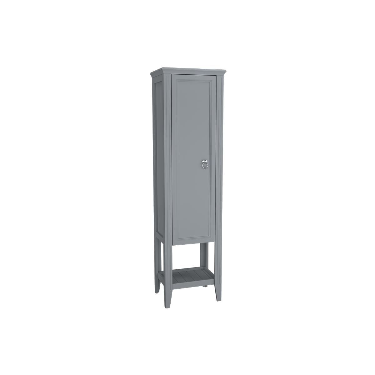Valarte armoire haute, 55 cm, porte à gauche, gris mat