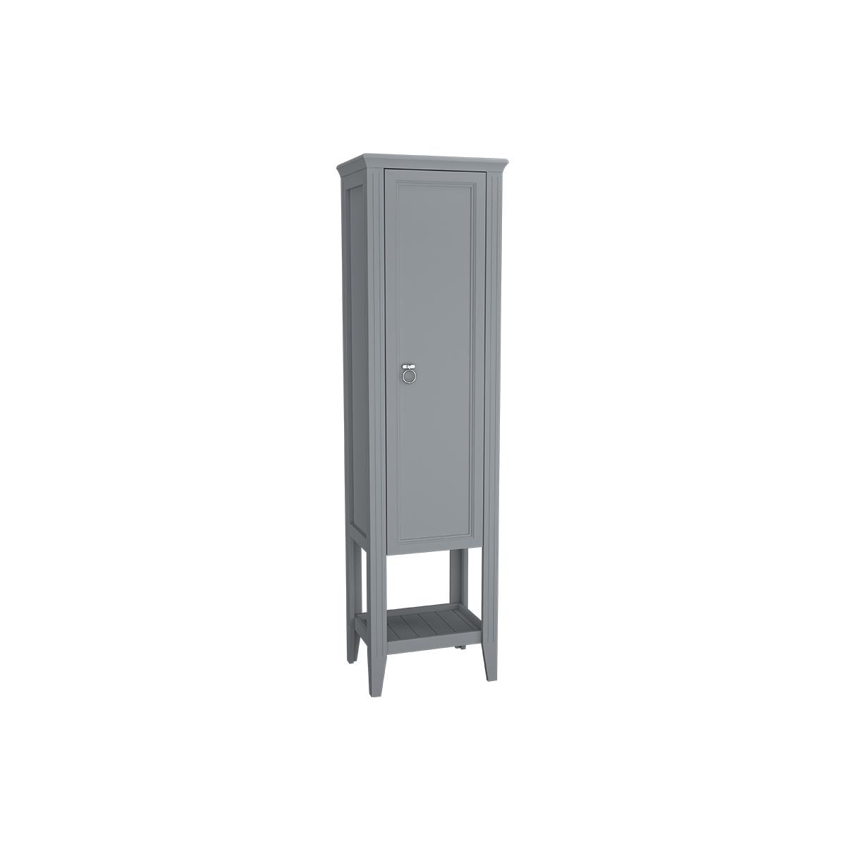 Valarte armoire haute, 55 cm, porte à droite, gris mat