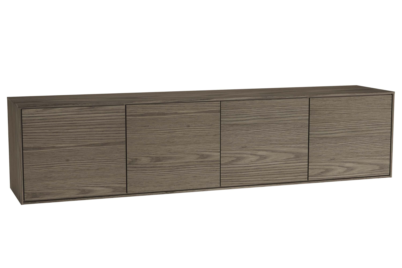 Voyage armoire basse, 160 cm, cordoba / taupe