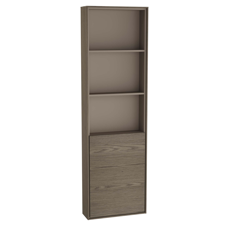 Voyage armoire haute, 45 cm, cordoba / taupe, gauche