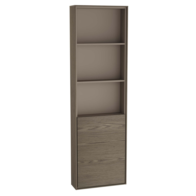 Voyage armoire haute, 45 cm, cordoba / taupe, droite