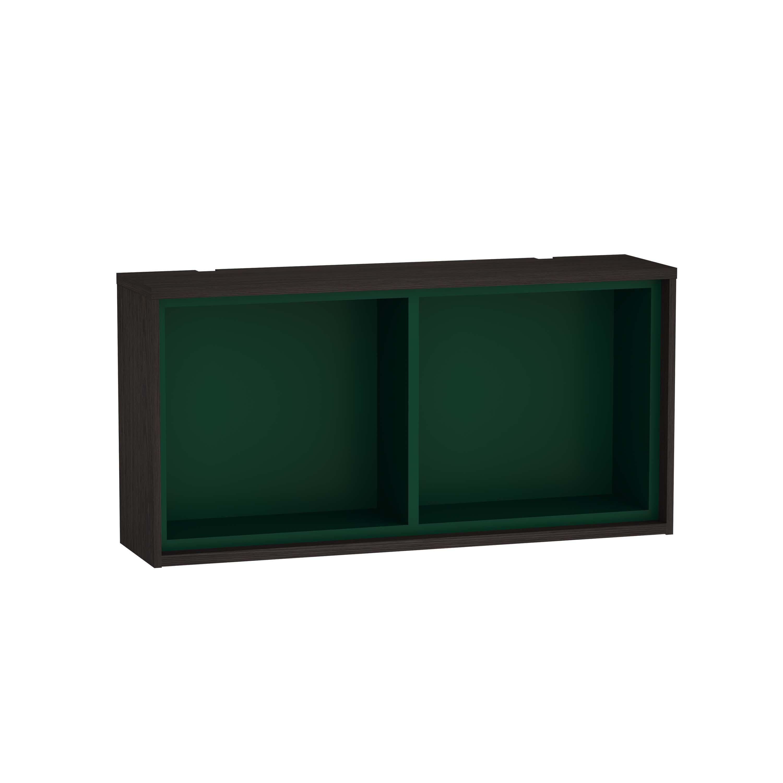 Voyage module horizontal, 60 cm, gris flambé / vert forêt