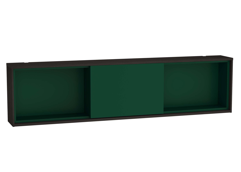 Voyage module horizontal, 120 cm, gris flambé / vert forêt