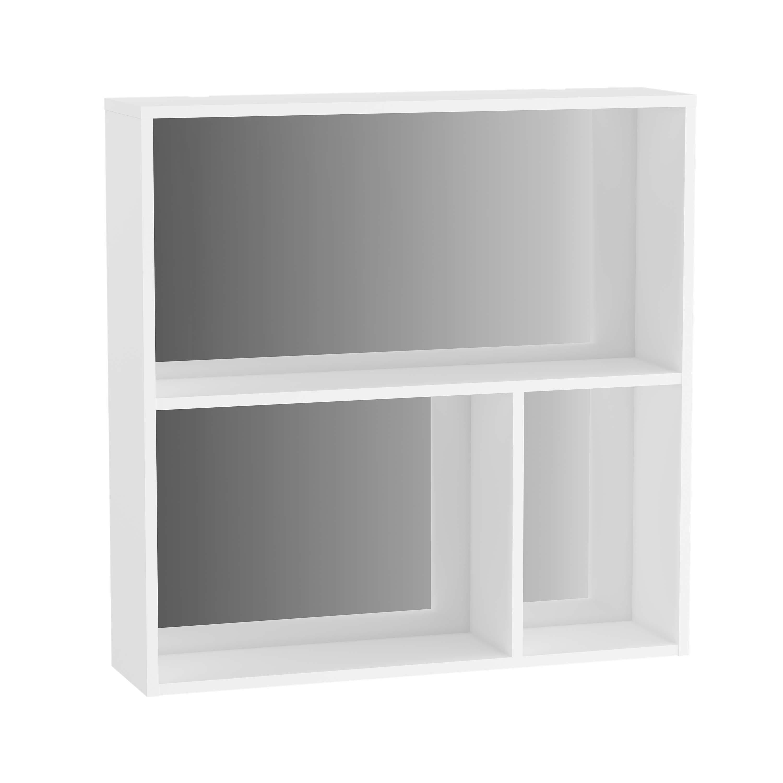 Voyage caisson, 60 cm, blanc mat / miroir