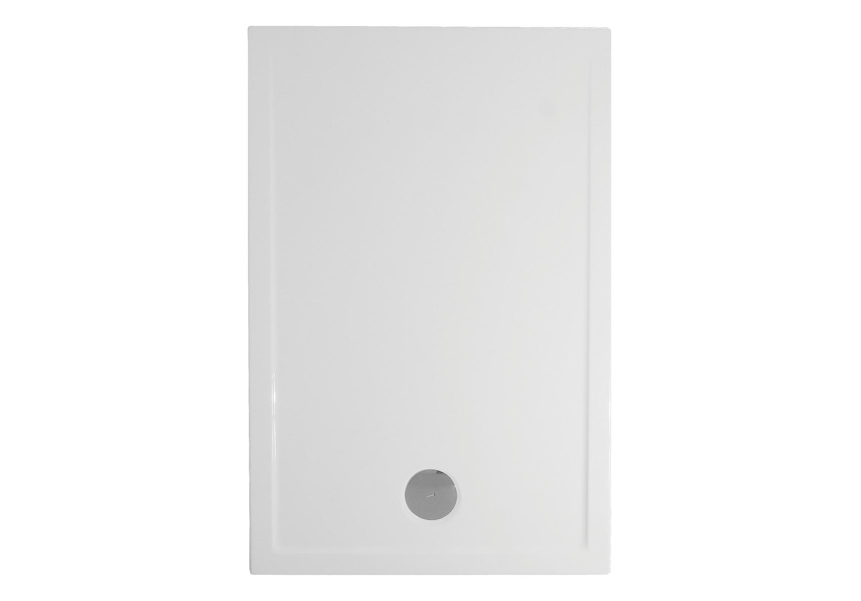 Fit receveur ultra plat en acrylique, 3,2 mm, à poser, rectangulaire, 120  x  80 cm