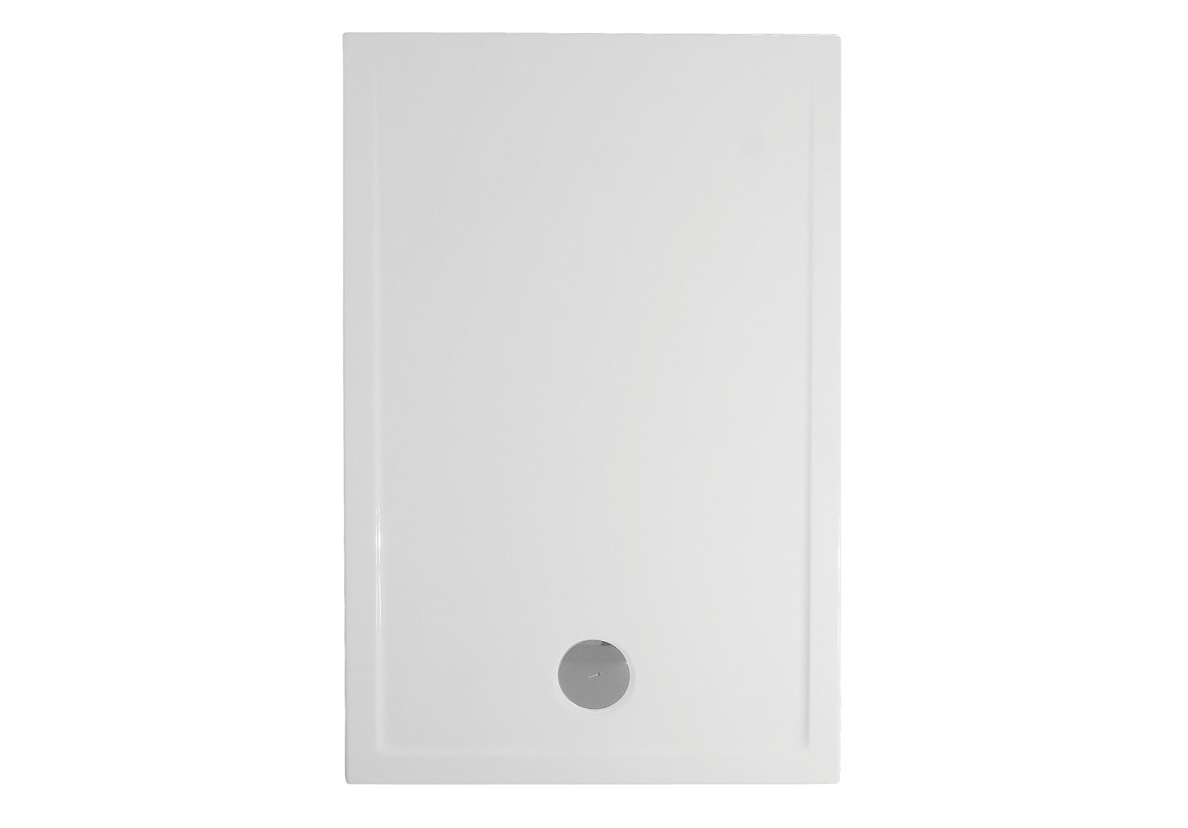 Fit receveur ultra plat en acrylique, 3,2 mm, à poser, rectangulaire, 120  x  80 cm, VitrA Antislip