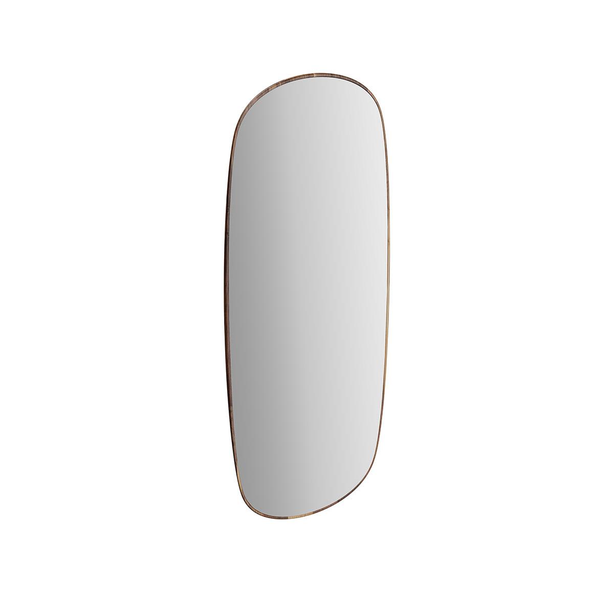 Plural Schwenk-Spiegel, 38 x 90 cm, Eiche dunkel