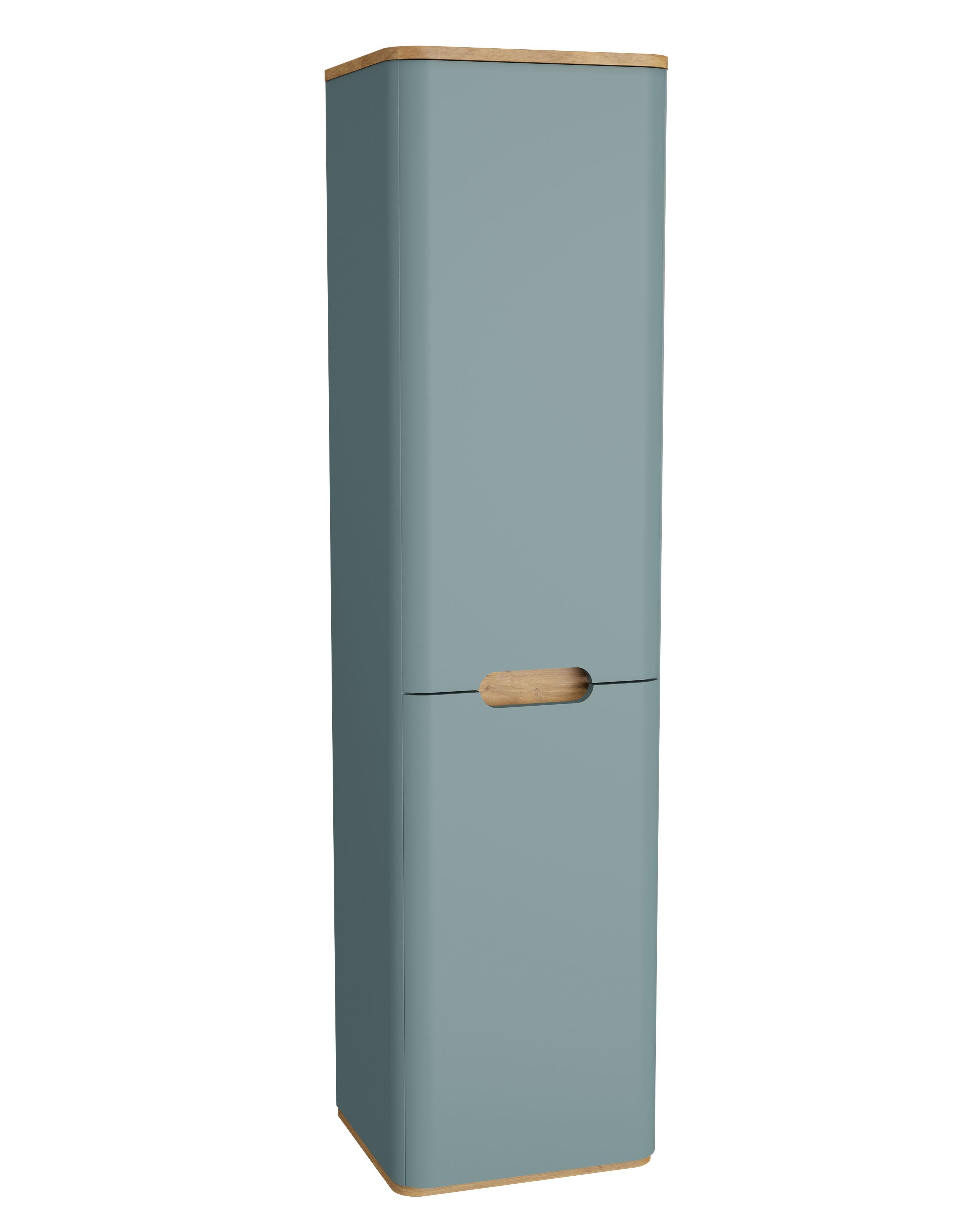 Sento armoire haute, charnière à gauche, 40 cm, vert fjord mat