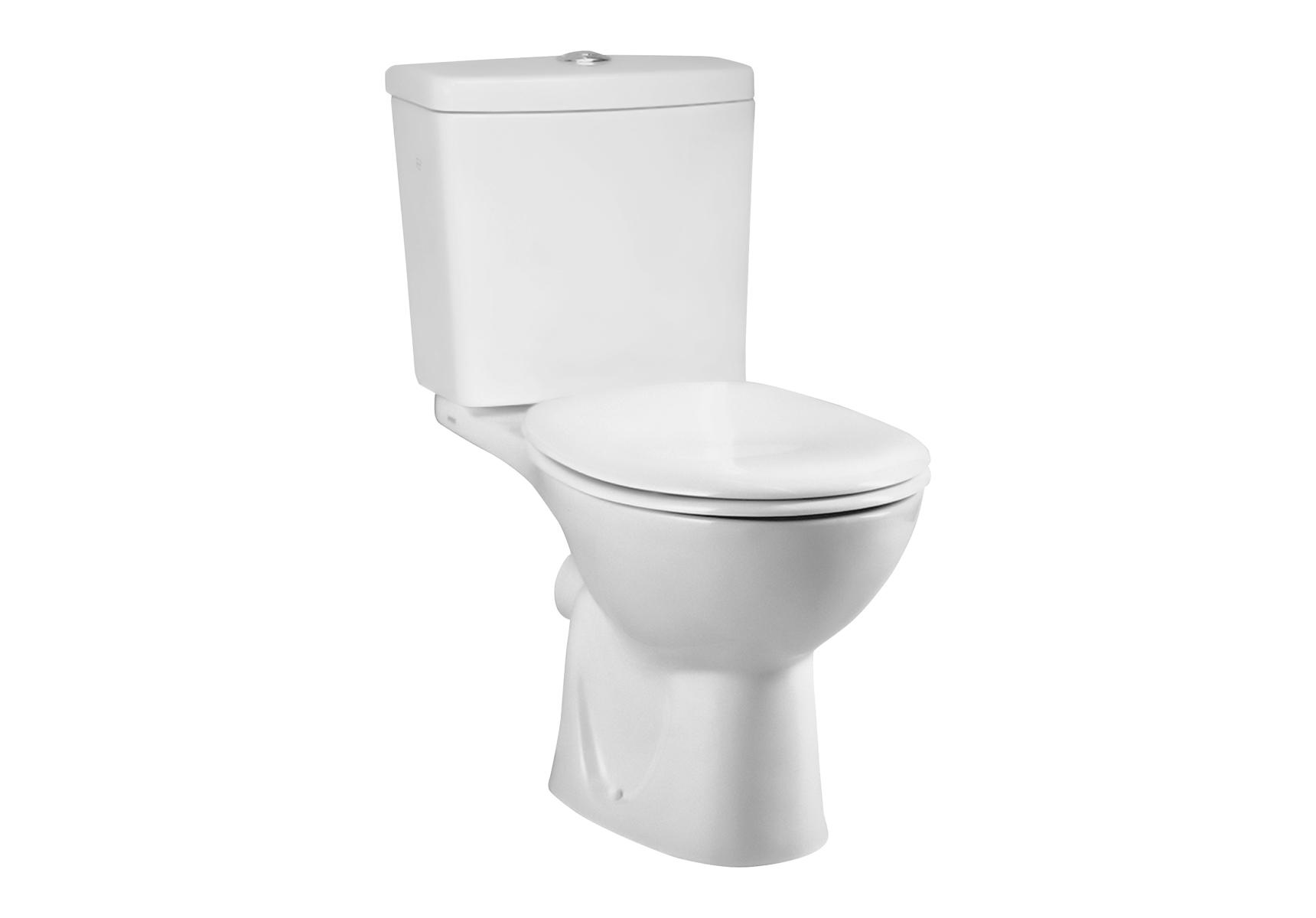 Arkitekt WC à poser avec bride, 65 cm, S / H