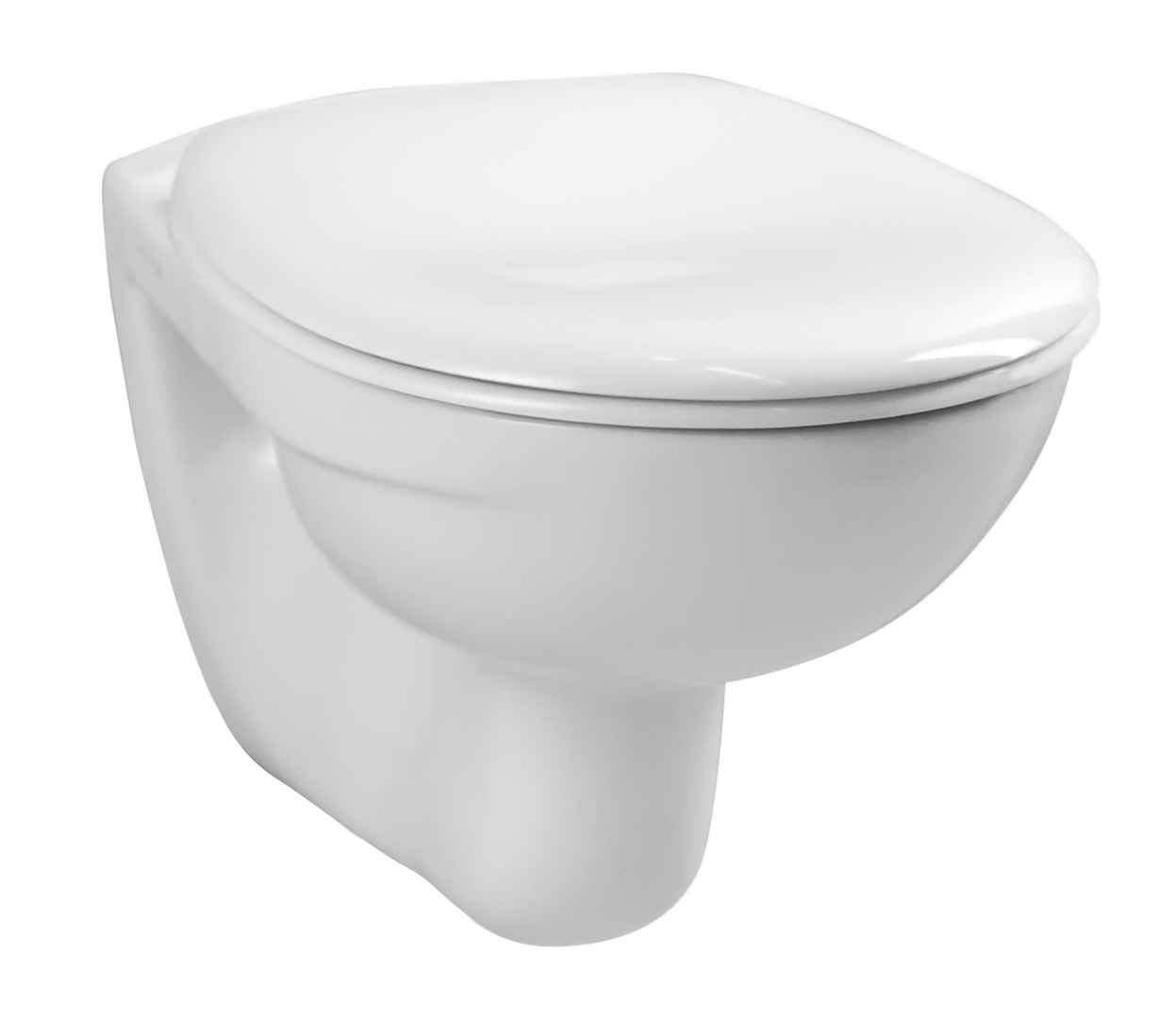 Normus Pack WC suspendu, 54 cm, abattant Thermoplast