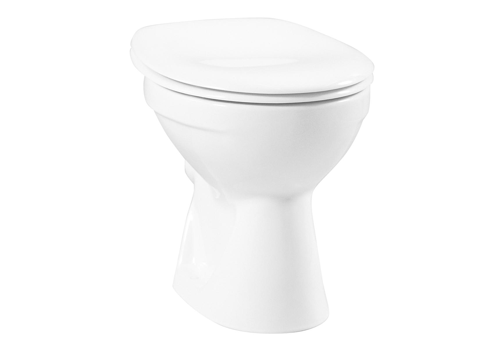 Normus WC à poser avec bride, 46 cm, S / H