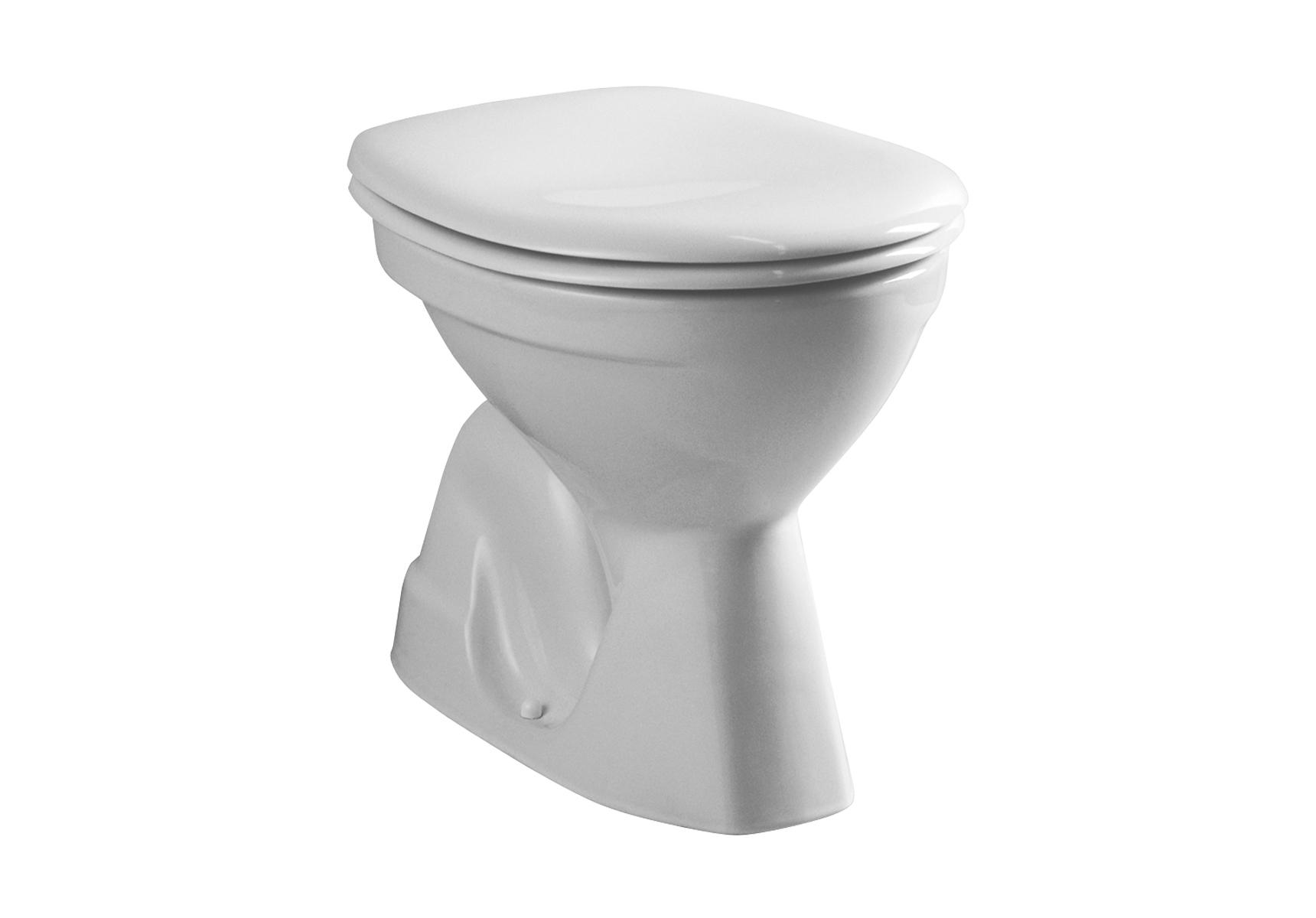 Normus WC à poser avec bride, 54 cm