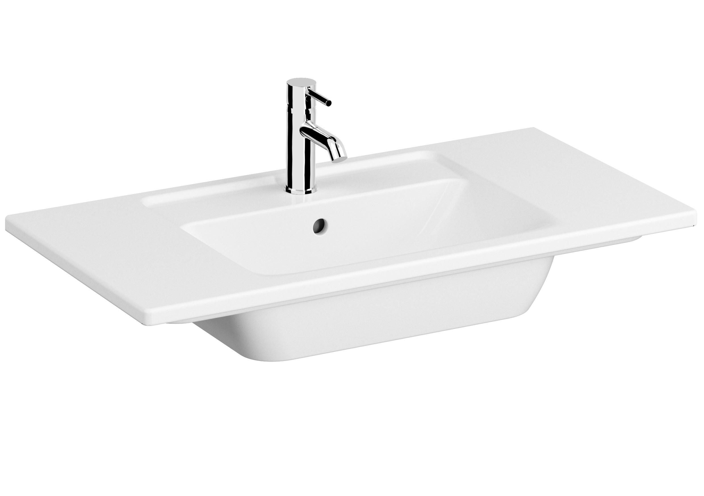 Integra Möbelwaschtisch, 90 cm, Weiß
