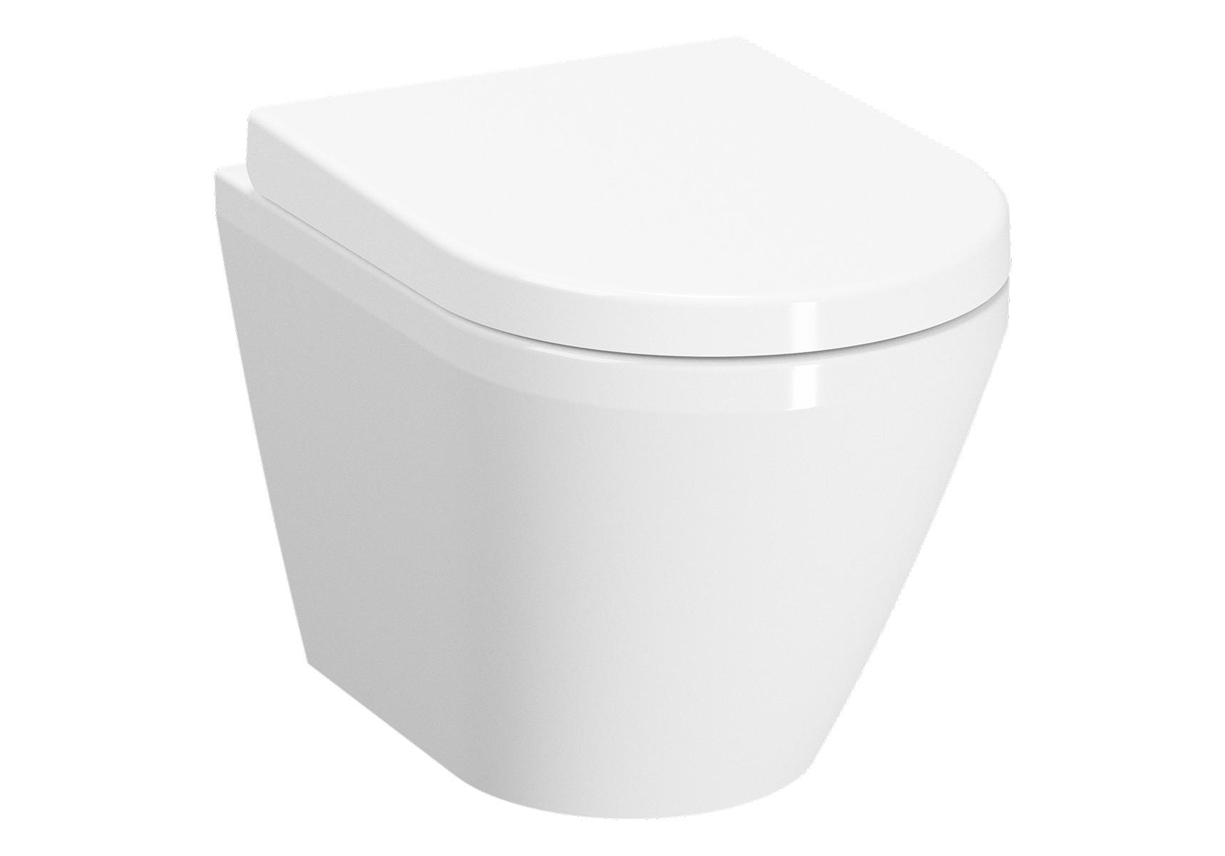 Integra Pack WC suspendu compact, 48 cm, sans bride