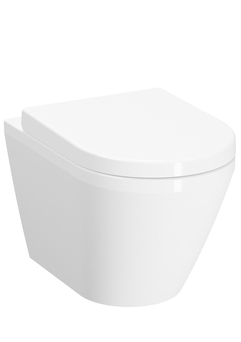Integra WC suspendu sans bride, fixation V-Fit 2.0, 54 cm