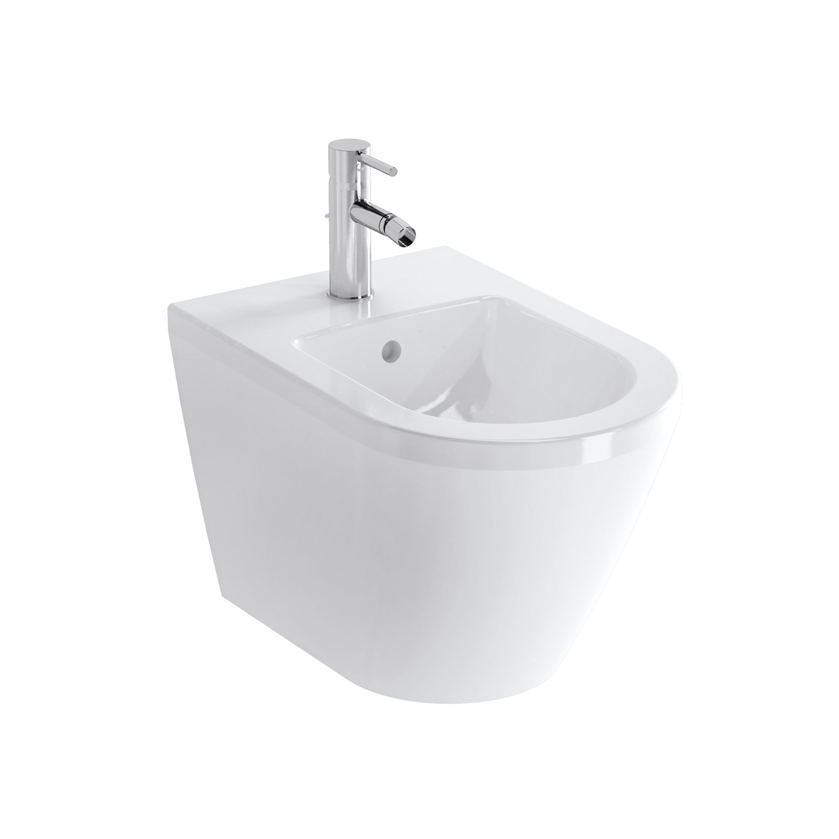 Integra Wand-Bidet, Weiß VitrA Clean