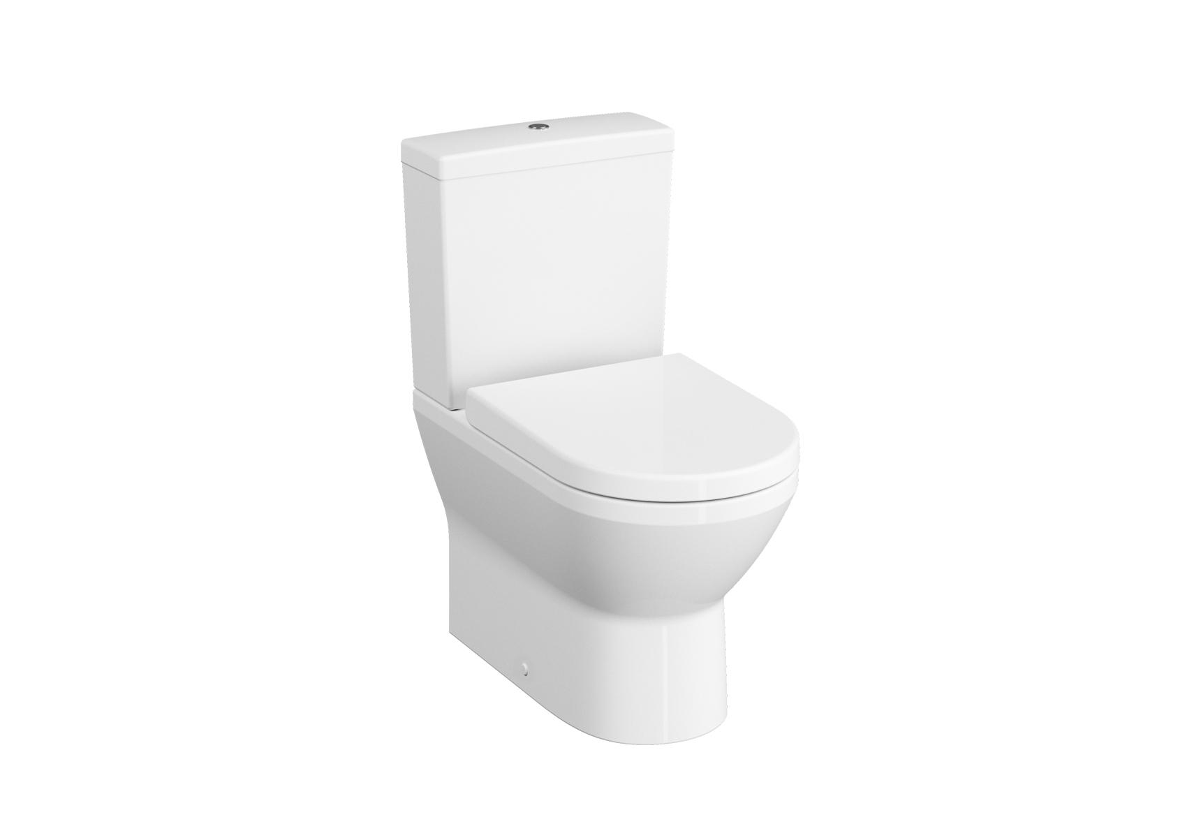 Integra WC BTW sans bride, 54 cm, sans trous latéraux