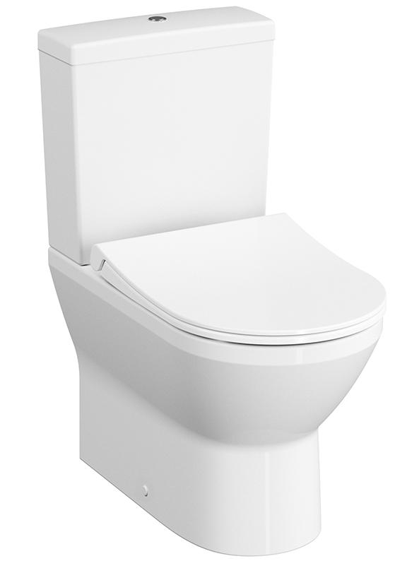 Integra Stand-WC-Kombination VitrA Flush 2.0, Weiß