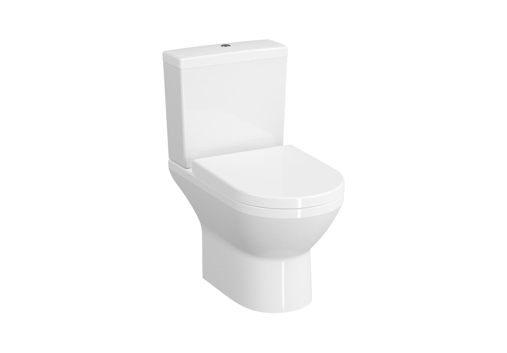 Integra WC open back sans bride, 54 cm