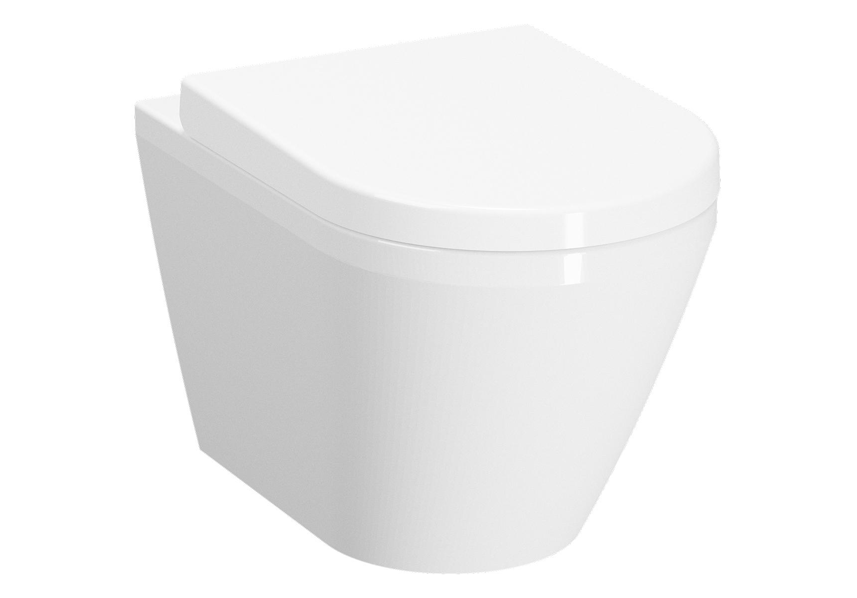 Integra WC suspendu, 54 cm, avec bride, fixation